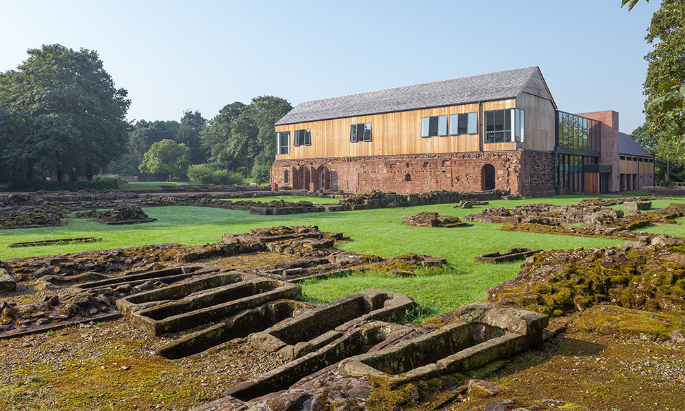 Norton Priory Museum Re Opens Following Extensive